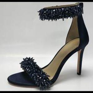 Enzo Angiolini Beaded Heeled Sandal